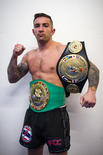 Liam Harrison Thai Boxer